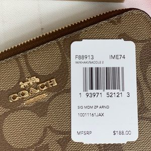 Coach Bags - Coach MD Zip Around Wallet